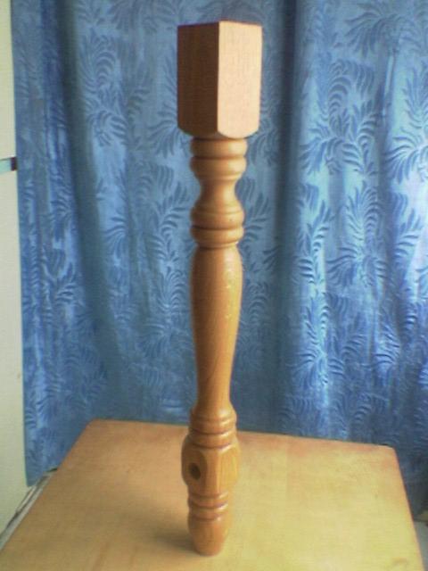 Picior masa lemn