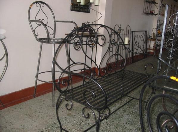 Mobilier din fier forjat Bucuresti