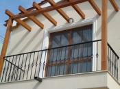 Balustrade fier forjat balcon