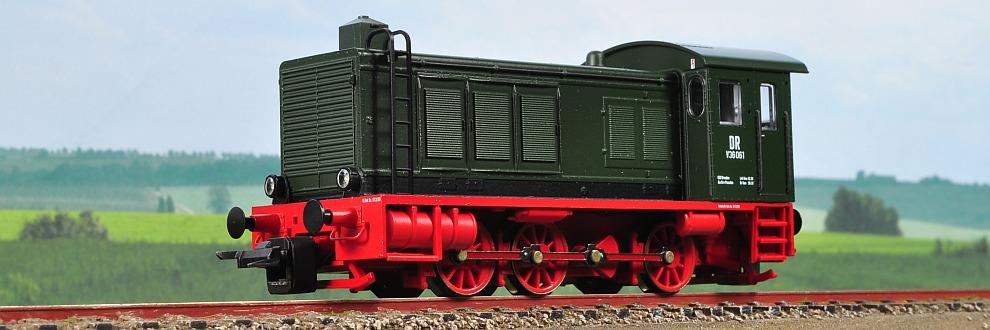 Miniatura locomotiva diesel