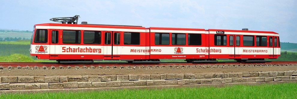 Miniatura tramvai