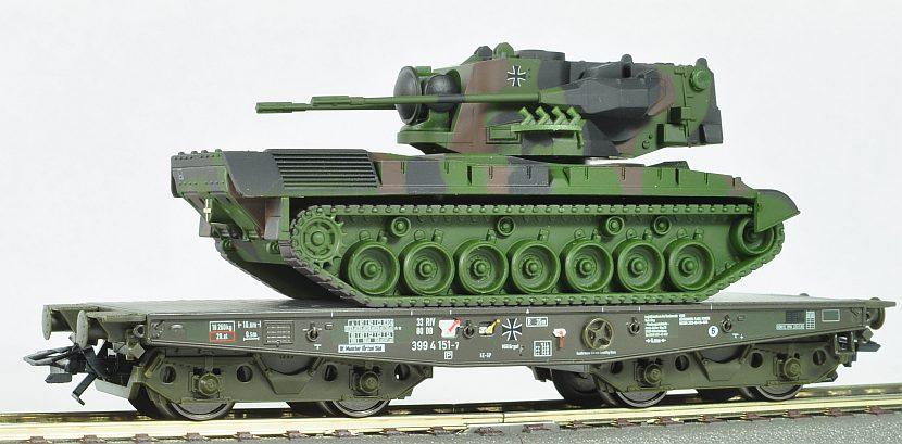 Miniatura vagoane militare