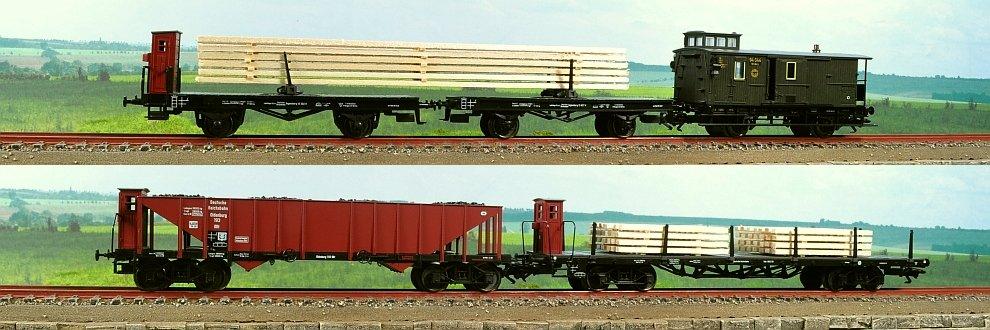 Set vagoane miniatura