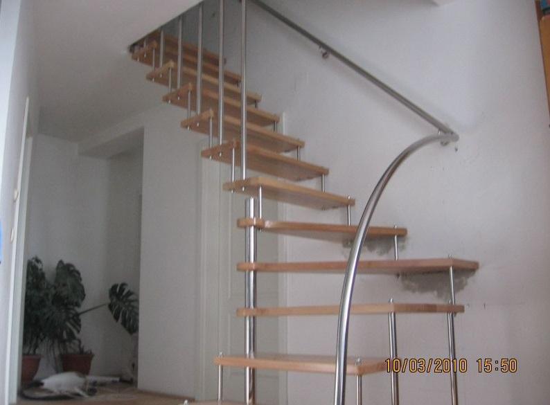 Scari metalice interior