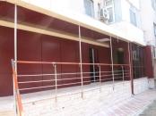 Balustrade inox cu lemn