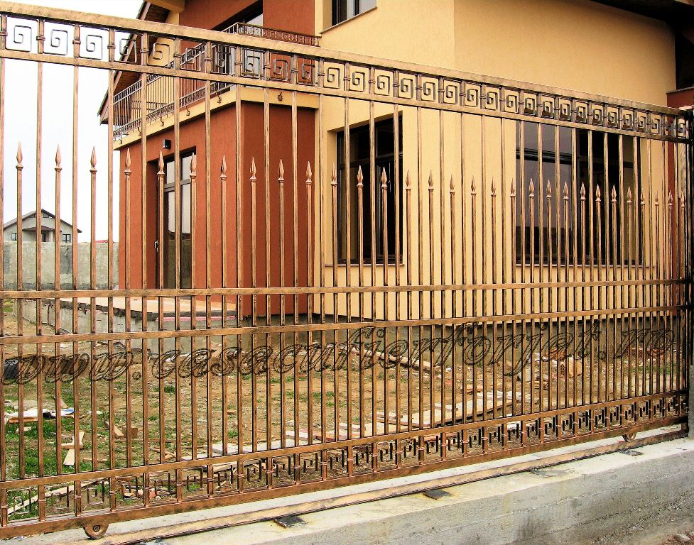 Gard fier forjat Craiova