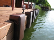 Perne protectie barca-ponton