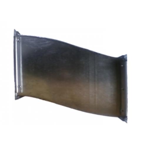 Deviere rectangulara din tabla