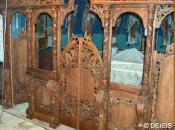 Mobilier lemn masiv sculptat