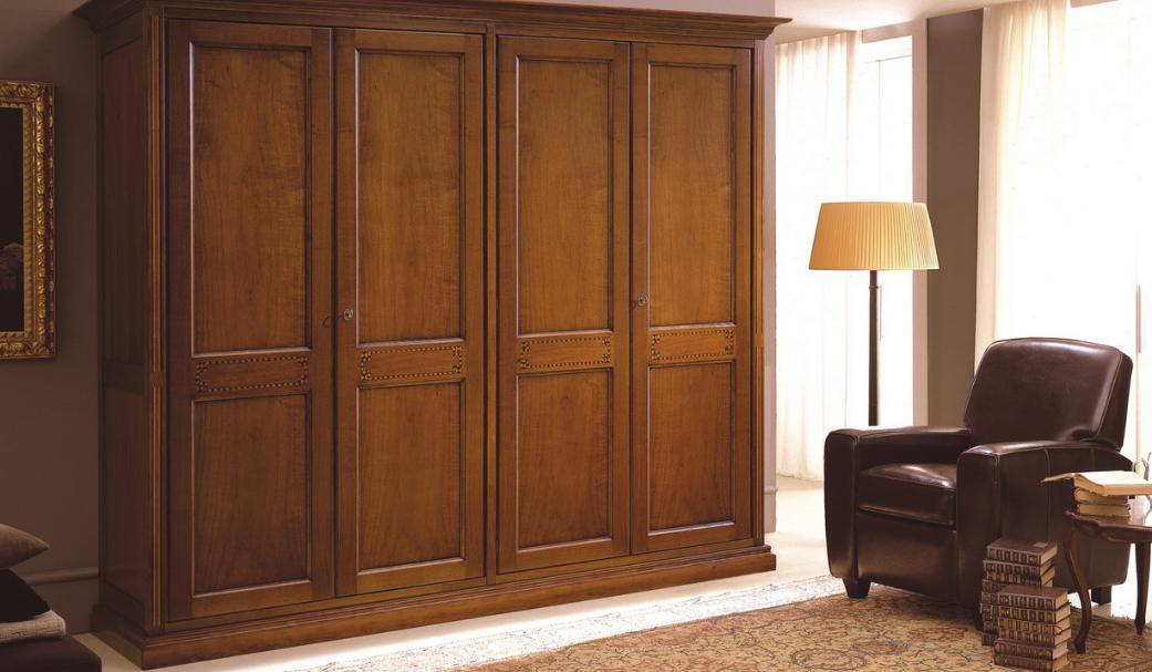 Mobila lemn masiv dormitor Elisabeta