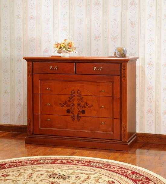 Mobila lemn masiv dormitor Katerina