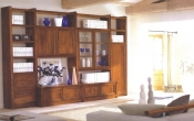 Biblioteca din lemn masiv 04