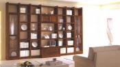 Biblioteca din lemn masiv 05