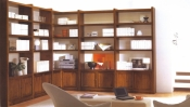 Biblioteca din lemn masiv  06