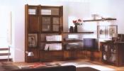 Biblioteca din lemn masiv  07