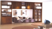 Biblioteca din lemn masiv  08
