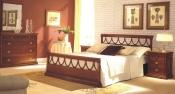 Mobila lemn masiv dormitor Laura