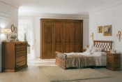 Mobila lemn masiv dormitor Pissa