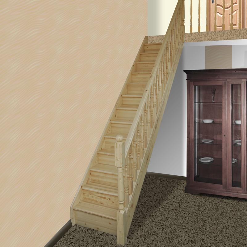 Scari interior lemn masiv