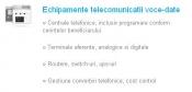 Echipamente telecomunicatii voce-date