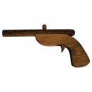 Pistol lemn de jucarie