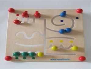 Joc educational panou masa labirint