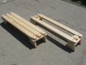 Set bancute din lemn multifunctionale