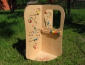 Stativ de joaca din lemn