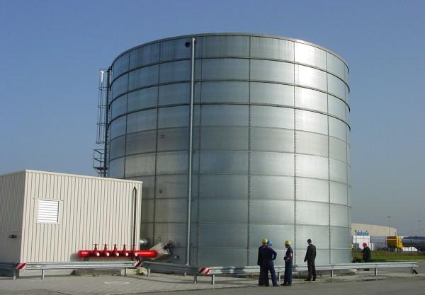 Rezervor metalic apa potabila