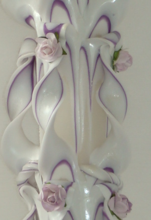 Lumanari sculptate nunta
