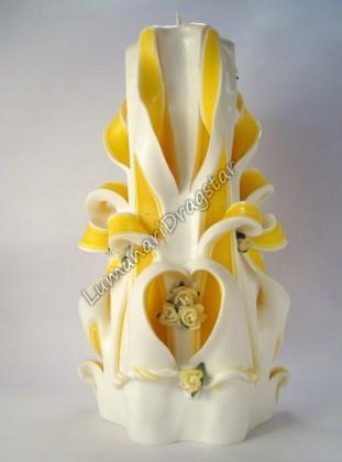 Lumanare sculptata mare - dr221009