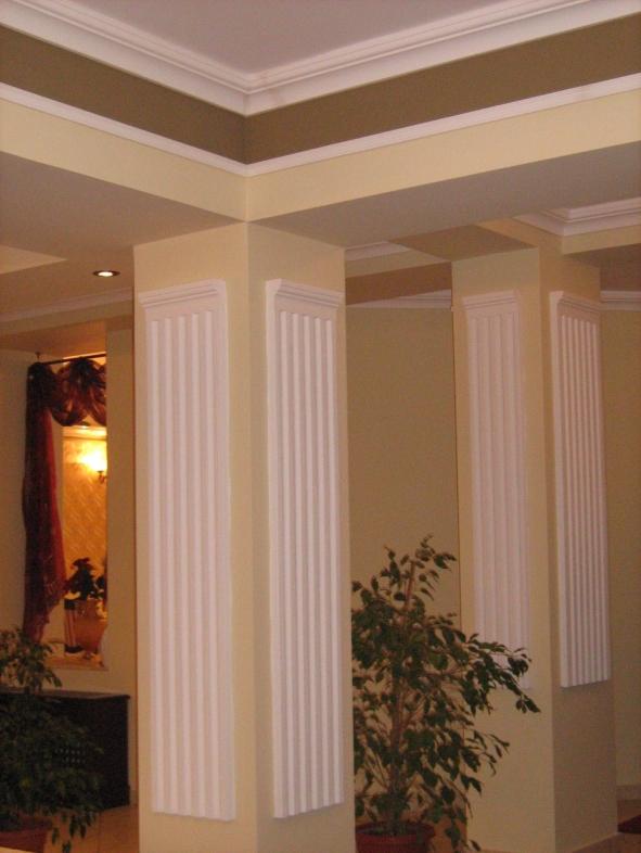 Pilastri decorativi polistiren