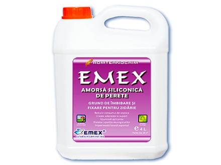 Amorsa Siliconica de Perete EMEX