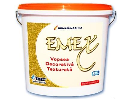 Vopsea Texturata Decorativa EMEX