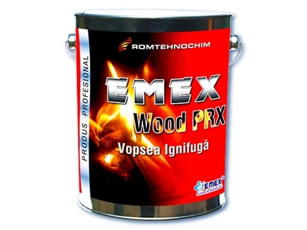 Vopsea Ignifuga Termospumanta EMEX WOOD PRX