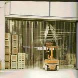 Perdele industriale din PVC