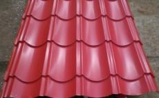 Tabla zincata acoperis