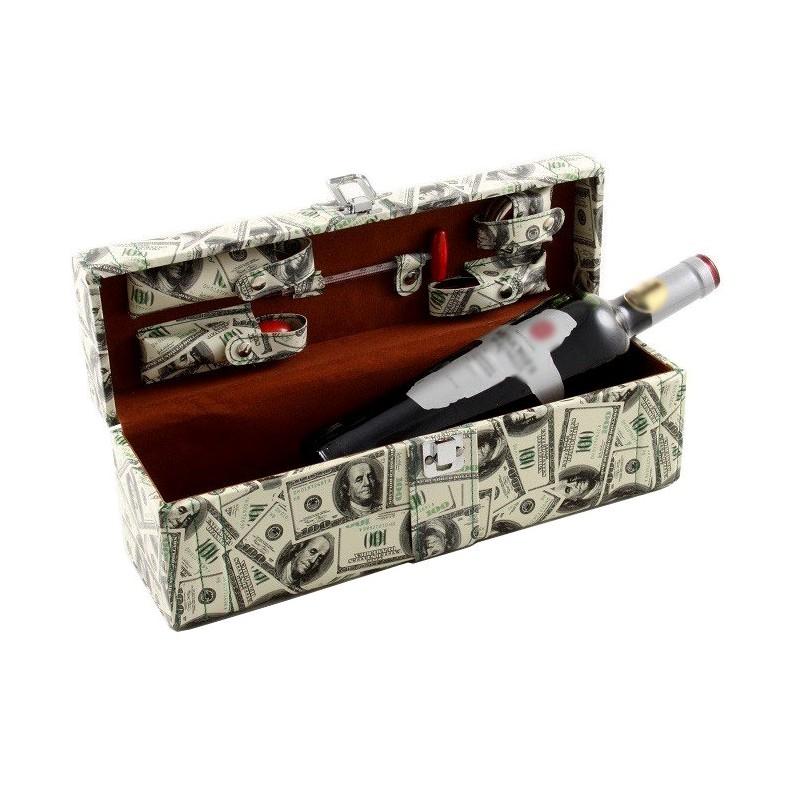 Cutie sticla de vin