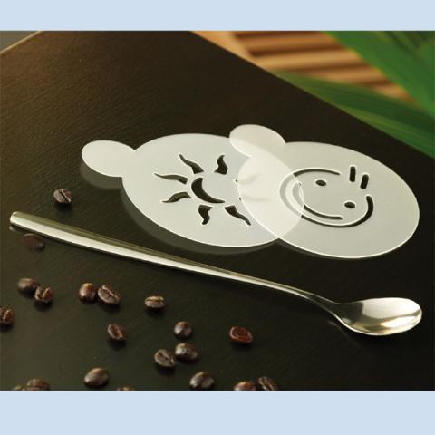 Sabloane pentru decorarea cafelei