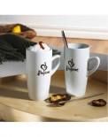 Set cesti portelan Passione Cappuccino