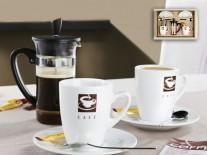 Set cesti portelan Ravenna Kaffee