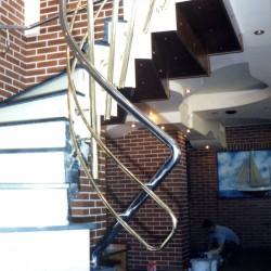 Balustrade inox interioare