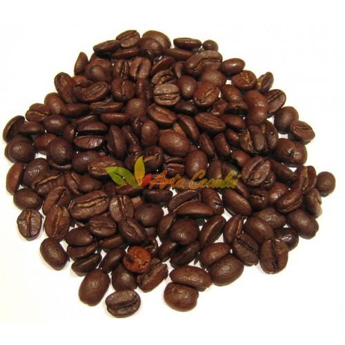 Cafea boabe cu aroma de caramel