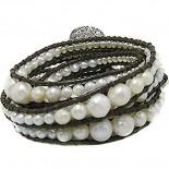 Bijuterii argint cu perle