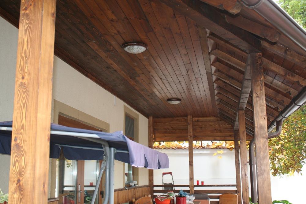 Pergole terase lemn