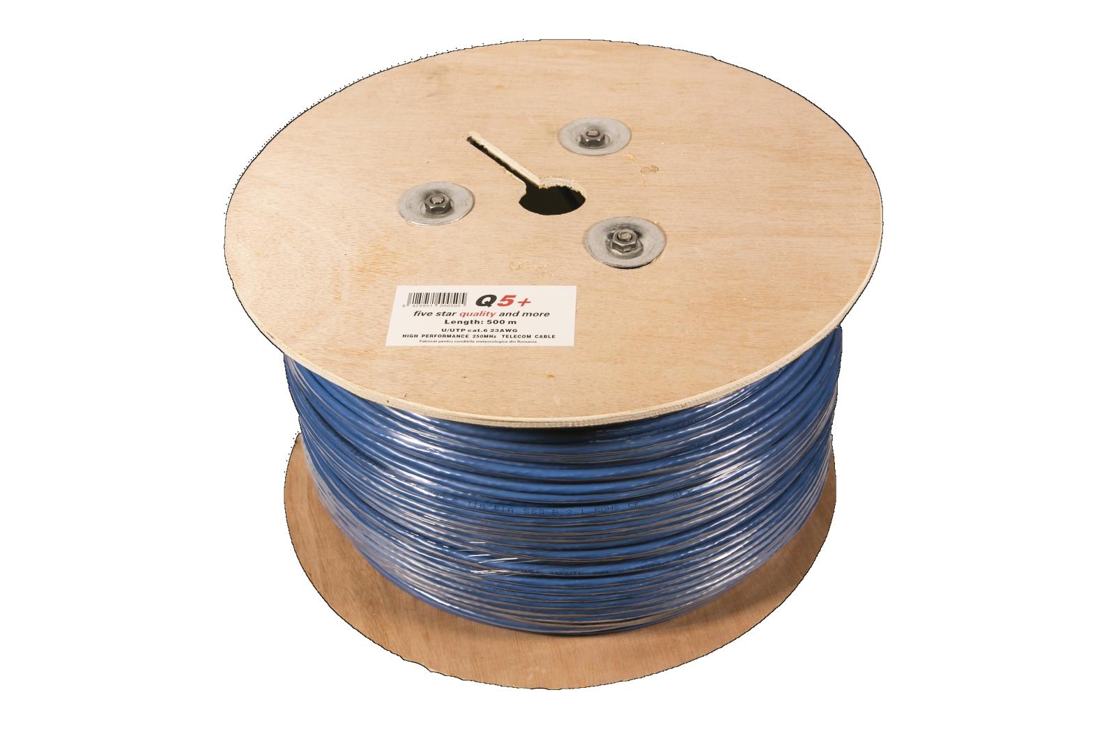 Cablu UTP cat 6 Q5+