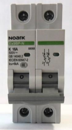Siguranta NOARK bipolara 2P 10A (1P+N)