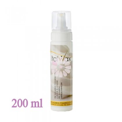 Spuma cu Vanilie pre sugaring - 200ml - ItalWax