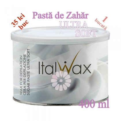Pasta de Zahar ULTRA SOFT la cutie 400ml - ItalWax