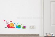 Stickere decorative pereti